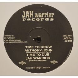 "Jah Mason / Anthony John - This Is How We Pray / Time To Grow - 12"" - Jah Warrior Records"