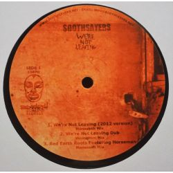 """Soothsayers - We're Not Leaving - 12"""" - Red Earth Records"""