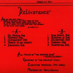 Commandments Of Dub 6 - Deliverance - LP