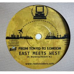 "East Meets West -  From Tokyo To London  - 7"" - Digital Traders Records"