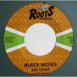 "Jah Lloyd - Black Moses - 7"" - Roots Traders"