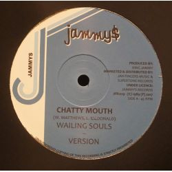 "Wailing Souls / Dennis Brown - Chatty Mouth / Now And Forever - 12"" - Jammys Records"