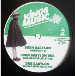 "Anthony Que / Dan Corn - Burn Babylon - 12"" - Kings Music"