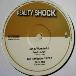 "Fred Locks - Jah Is Wonderful - 10"" - Reality Shock Records"