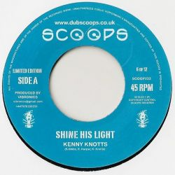 Kenny Knotts - Shine His Light - 7""