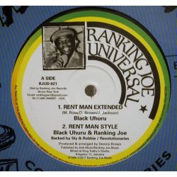 Black Uhuru - Rent Man  -...