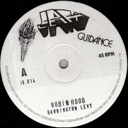 Barrington Levy - Robin Hood / Black Hart Man - 10""