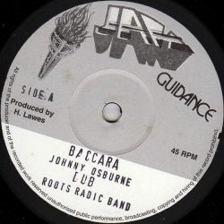 "Johnny Osbourne - Baccara / Give A Little Love - 10"""