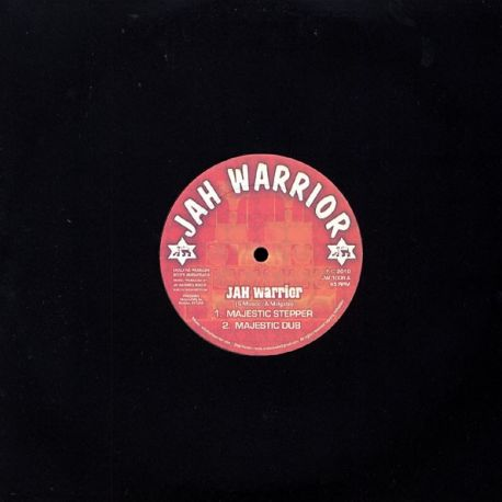 "Jah Warrior - Majestic Stepper - 10"" - JW1008"