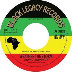 Linval Thompson /  Keety Roots - Weather The Storm - 7""
