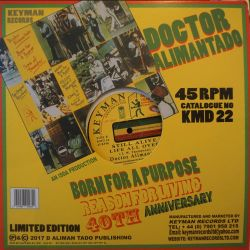 Dr. Alimantado - Born For A...
