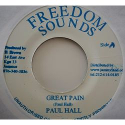 Paul Hall  - Great Pain /...