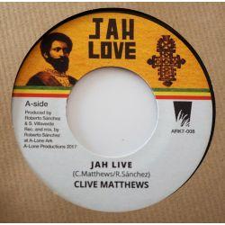 Clive Matthews - Jah Live...