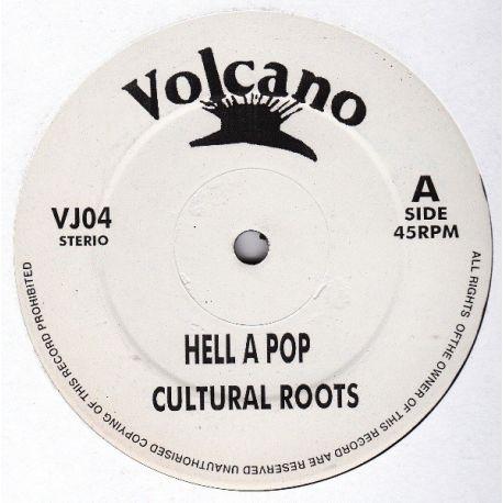 "Cultural Roots /  Sammy Dread /  Danny Dread - Hell A Pop / Follow Fashion - 12"""