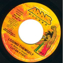 Lutan Fyah - Losing Themself - 7""