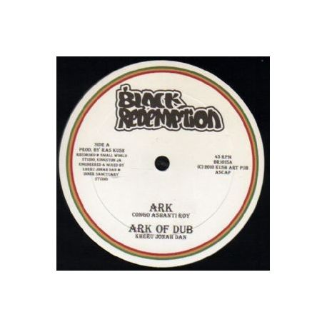 "Congo Ashanti Roy /  Itak Shaggy Tojo - Ark / Arklodica - 10"""