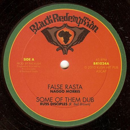 Naggo Morris /  Lucan I - False Rasta / One Universal Love - 10""