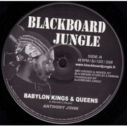 Anthony John - Babylon Kings & Queens - 12""