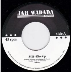 Piki  /  Fischerman  - Rise Up / Dub Up - 7""