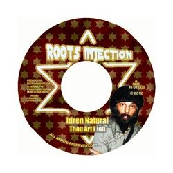 Idren Natural - Thou Art I Jah - 7""