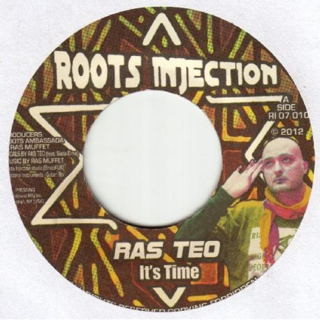 Ras Teo - It's Time - 7""
