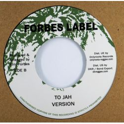 "Alric Forbes - To Jah - 7""..."
