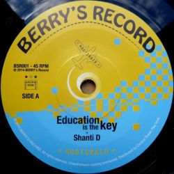 Roots Raid /  Shanti D - Education Is The Key - 7""