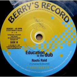"Roots Raid /  Shanti D - Education Is The Key - 7"""