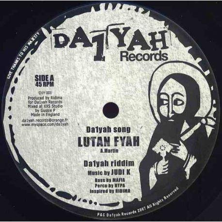 "Lutan Fyah - Da1yah Song - 10"""