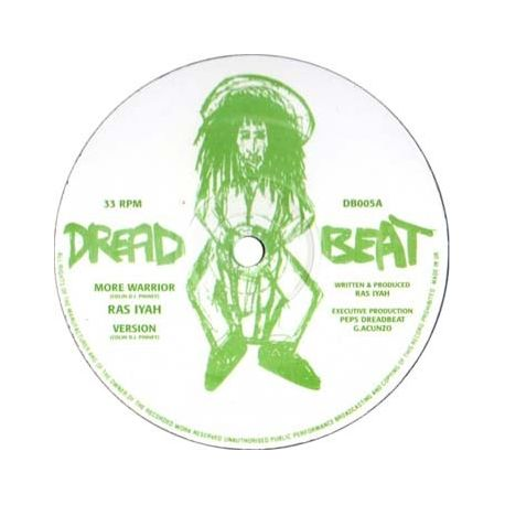 Ras Iyah , Daddae Harvey - More Warrior , Formula One Dub - 12""
