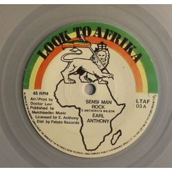 Earl Anthony - Sensi Man Rock - 7""