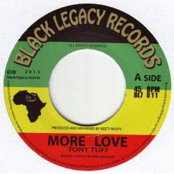 Tony Tuff - More Love - 7""