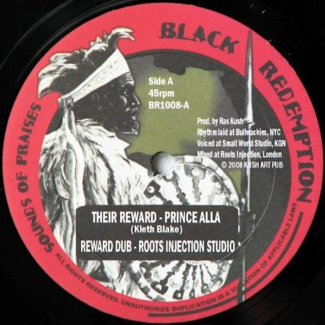 Prince Alla /  Fred Locks - Their Reward / Walls - 10""