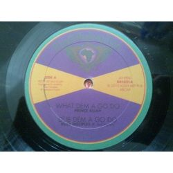 Prince Alla - What Dem A Go Do / In The Ghetto - 10""