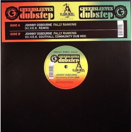 Johnny Osbourne ‎– Fally Ranking (V.I.V.E.K Remix) - 12''