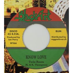 "Twin Roots - Know Love - 7""..."