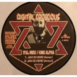 Ital Mick /  King Alpha - Jah Is Here / Hail The Emperor - 10""