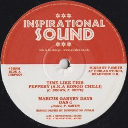"""Inspirational Sound /  Peppery /  Dan Man /  - Time Like This - 10"""""""