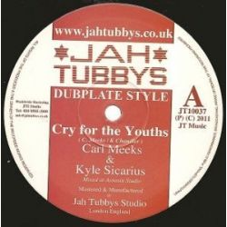 Carl Meeks /  Kyle Sicarius /  King Simeon /  - Cry For The Youths / African Postman - 10""