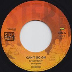 "aDUBta /  Lyrical Benjie - Can't Go On - 7"""