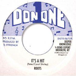 "Roots  - It's A Hit   - 7""..."
