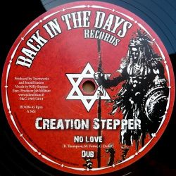 Creation Stepper - No Love - 12""