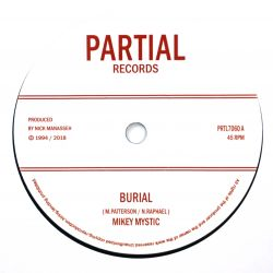 "Mikey Mystic - Burial - 7""..."