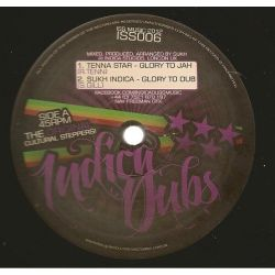Tenna Star , Sukh Indica , Reality Souljahs , Uprising Sounds - Glory To Jah , Jah Bless Me - 12""