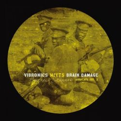 Vibronics /  Brain Damage  - Empire Soldiers Dubplate Vol. 3 - 10""