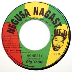 "Big Youth - Honesty - 7"" -..."