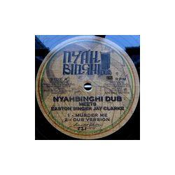 "Nyahbinghi Dub /  Easton Clarke - Murder Me / Salvation - 10\"""