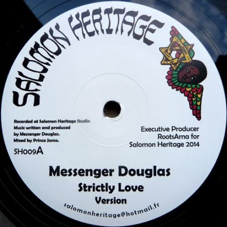 "Messenger Douglas /  Daba Makourejah - Strictly Love / Soulful Revolution - 12"""