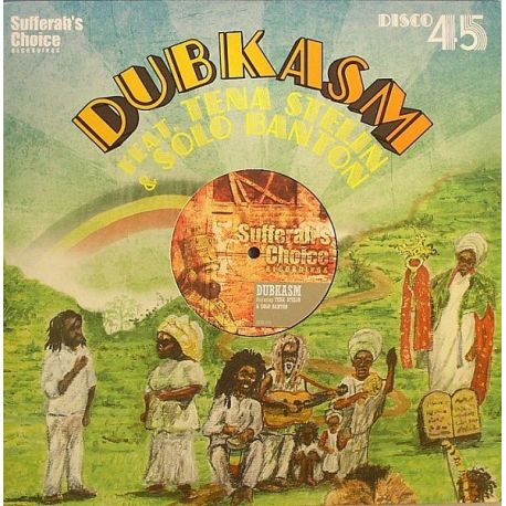"Dubkasm /  Tenastelin /  Solo Banton - More Jah Songs / Tell The World - 12"""