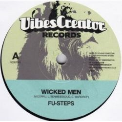 Fu-Steps /  Bush Chemists, The - Wicked Men - 7""